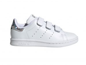 adidas Originals – STAN SMITH CF C – FTWWHT/FTWWHT/CBLACK