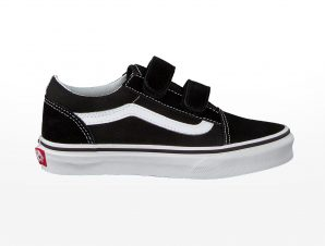 Vans – UY OLD SKOOL V – BLACK/TRUE WHITE