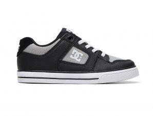 Dc – PURE ELASTIC B SHOE – BLACK/GREY