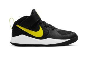 Nike – TEAM HUSTLE D 9 (PS) – BLACK/HIGH VOLTAGE-LT SMOKE GREY