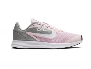 Nike – NIKE DOWNSHIFTER 9 (GS) – PINK FOAM /WHITE-METALLIC SILVER