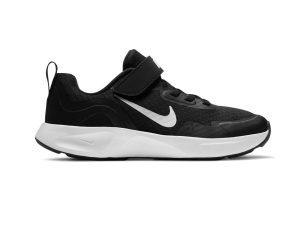 Nike – NIKE WEARALLDAY (PS) – BLACK/WHITE