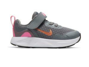 Nike – NIKE WEARALLDAY (TD) – SMOKE GREY/METALLIC COPPER-PINK GLOW