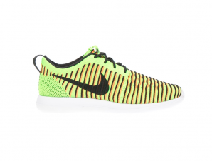 NIKE – Παιδικά παπούτσια NIKE ROSHE TWO FLYKNIT (GS) πράσινα