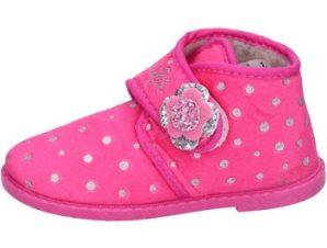 Παντόφλες Lulu pantofole rosa fucsia tessuto BS44