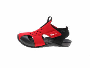 NIKE – Παιδικά σανδάλια NIKE SUNRAY PROTECT 2 (PS) κόκκινα μαύρα