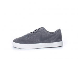 NIKE – Παιδικά sneakers NIKE SB CHECK SUEDE (GS) γκρι
