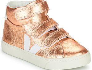 Ψηλά Sneakers Veja SMALL-ESPLAR-MID ΣΤΕΛΕΧΟΣ: Δέρμα & ΕΠΕΝΔΥΣΗ: Ύφασμα & ΕΣ. ΣΟΛΑ: Συνθετικό & ΕΞ. ΣΟΛΑ: Καουτσούκ