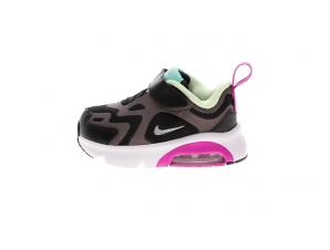 NIKE – Βρεφικά παπούτσια NIKE AIR MAX 200 (TD) μαύρα