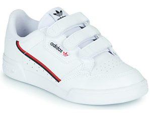Xαμηλά Sneakers adidas CONTINENTAL 80 CF C ΣΤΕΛΕΧΟΣ: Δέρμα και συνθετικό & ΕΠΕΝΔΥΣΗ: Ύφασμα & ΕΣ. ΣΟΛΑ: Ύφασμα & ΕΞ. ΣΟΛΑ: Καουτσούκ