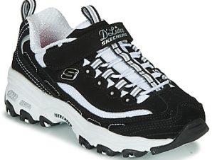 Xαμηλά Sneakers Skechers D'LITES ΣΤΕΛΕΧΟΣ: Δέρμα / ύφασμα & ΕΠΕΝΔΥΣΗ: Ύφασμα & ΕΣ. ΣΟΛΑ: Ύφασμα & ΕΞ. ΣΟΛΑ: Καουτσούκ