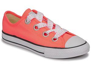 Xαμηλά Sneakers Converse CTAS BIG EYELET OX LAVA GLOW/WHITE/BLACK