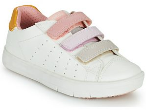 Xαμηλά Sneakers Geox SILENEX GIRL ΣΤΕΛΕΧΟΣ: Συνθετικό και ύφασμα & ΕΠΕΝΔΥΣΗ: Συνθετικό και ύφασμα & ΕΣ. ΣΟΛΑ: Δέρμα & ΕΞ. ΣΟΛΑ: Συνθετικό