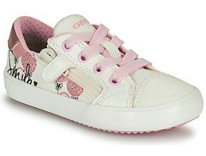 Xαμηλά Sneakers Geox GISLI GIRL ΣΤΕΛΕΧΟΣ: Συνθετικό και ύφασμα & ΕΠΕΝΔΥΣΗ: Συνθετικό και ύφασμα & ΕΣ. ΣΟΛΑ: Ύφασμα & ΕΞ. ΣΟΛΑ: Καουτσούκ