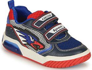 Xαμηλά Sneakers Geox J INEK BOY B ΣΤΕΛΕΧΟΣ: Συνθετικό και ύφασμα & ΕΠΕΝΔΥΣΗ: Ύφασμα & ΕΣ. ΣΟΛΑ: Δέρμα & ΕΞ. ΣΟΛΑ: Καουτσούκ