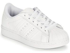 Xαμηλά Sneakers adidas SUPERSTAR C ΣΤΕΛΕΧΟΣ: Δέρμα & ΕΠΕΝΔΥΣΗ: Συνθετικό & ΕΣ. ΣΟΛΑ: Συνθετικό & ΕΞ. ΣΟΛΑ: Καουτσούκ