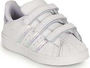 Xαμηλά Sneakers adidas SUPERSTAR CF I ΣΤΕΛΕΧΟΣ: Δέρμα & ΕΠΕΝΔΥΣΗ: Ύφασμα & ΕΣ. ΣΟΛΑ: Ύφασμα & ΕΞ. ΣΟΛΑ: Καουτσούκ