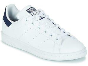 Xαμηλά Sneakers adidas STAN SMITH J SUSTAINABLE ΣΤΕΛΕΧΟΣ: Συνθετικό & ΕΠΕΝΔΥΣΗ: Συνθετικό και ύφασμα & ΕΣ. ΣΟΛΑ: Συνθετικό και ύφασμα & ΕΞ. ΣΟΛΑ: Καουτσούκ