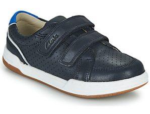 Xαμηλά Sneakers Clarks FAWN SOLO K ΣΤΕΛΕΧΟΣ: Δέρμα & ΕΠΕΝΔΥΣΗ: Δέρμα & ΕΣ. ΣΟΛΑ: Δέρμα & ΕΞ. ΣΟΛΑ: Καουτσούκ