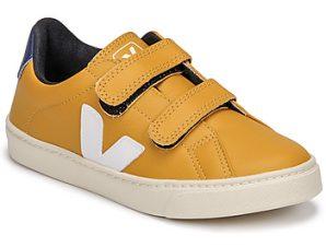Xαμηλά Sneakers Veja SMALL ESPLAR VELCRO ΣΤΕΛΕΧΟΣ: Δέρμα & ΕΠΕΝΔΥΣΗ: Συνθετικό & ΕΣ. ΣΟΛΑ: Συνθετικό και ύφασμα & ΕΞ. ΣΟΛΑ: Καουτσούκ