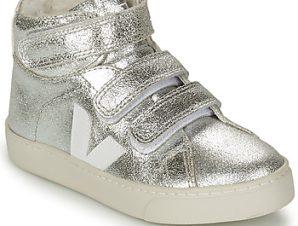 Ψηλά Sneakers Veja SMALL ESPLAR MID FUR ΣΤΕΛΕΧΟΣ: Δέρμα & ΕΠΕΝΔΥΣΗ: Μάλλινα & ΕΣ. ΣΟΛΑ: Συνθετικό και ύφασμα & ΕΞ. ΣΟΛΑ: Καουτσούκ