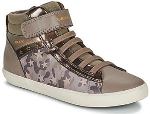 Ψηλά Sneakers Geox GISLI ΣΤΕΛΕΧΟΣ: Συνθετικό και ύφασμα & ΕΠΕΝΔΥΣΗ: Συνθετικό και ύφασμα & ΕΣ. ΣΟΛΑ: Ύφασμα & ΕΞ. ΣΟΛΑ: Καουτσούκ