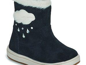 Μπότες για την πόλη Geox TROTTOLA ΣΤΕΛΕΧΟΣ: Δέρμα / ύφασμα & ΕΠΕΝΔΥΣΗ: Ύφασμα & ΕΞ. ΣΟΛΑ: Καουτσούκ