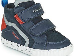 Ψηλά Sneakers Geox KILWI ΣΤΕΛΕΧΟΣ: Δέρμα και συνθετικό & ΕΠΕΝΔΥΣΗ: Ύφασμα & ΕΣ. ΣΟΛΑ: Ύφασμα & ΕΞ. ΣΟΛΑ: Καουτσούκ