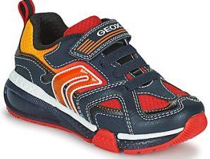 Xαμηλά Sneakers Geox BAYONYC ΣΤΕΛΕΧΟΣ: Συνθετικό και ύφασμα & ΕΠΕΝΔΥΣΗ: Ύφασμα & ΕΣ. ΣΟΛΑ: Δέρμα προβάτου & ΕΞ. ΣΟΛΑ: Καουτσούκ