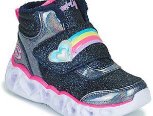 Ψηλά Sneakers Skechers HEART LIGHTS ΣΤΕΛΕΧΟΣ: Ύφασμα & ΕΠΕΝΔΥΣΗ: Ύφασμα & ΕΣ. ΣΟΛΑ: Ύφασμα & ΕΞ. ΣΟΛΑ: Καουτσούκ