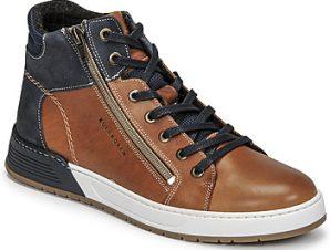 Xαμηλά Sneakers Bullboxer AOF506COGN ΣΤΕΛΕΧΟΣ: Δέρμα / ύφασμα & ΕΠΕΝΔΥΣΗ: Ύφασμα & ΕΣ. ΣΟΛΑ: Συνθετικό & ΕΞ. ΣΟΛΑ: Συνθετικό