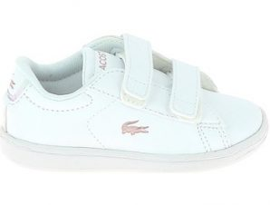 Xαμηλά Sneakers Lacoste Carnaby BB Blanc Rose