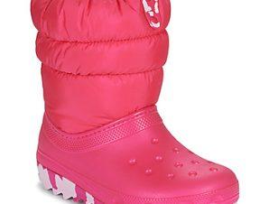 Μπότες για σκι Crocs CLASSIC NEO PUFF BOOT K ΣΤΕΛΕΧΟΣ: Συνθετικό και ύφασμα & ΕΣ. ΣΟΛΑ: Ύφασμα & ΕΞ. ΣΟΛΑ: Συνθετικό