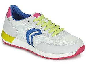 Xαμηλά Sneakers Geox J ALBEN GIRL ΣΤΕΛΕΧΟΣ: Δέρμα / ύφασμα & ΕΠΕΝΔΥΣΗ: Συνθετικό και ύφασμα & ΕΣ. ΣΟΛΑ: Δέρμα & ΕΞ. ΣΟΛΑ: Καουτσούκ