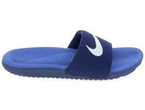 σαγιονάρες Nike Kawa Slide Jr Bleu 819352-404