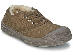 Xαμηλά Sneakers Bensimon TENNIS FOURREES ΣΤΕΛΕΧΟΣ: Ύφασμα & ΕΠΕΝΔΥΣΗ: Με γούνα & ΕΣ. ΣΟΛΑ: Με γούνα & ΕΞ. ΣΟΛΑ: Καουτσούκ