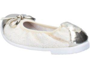 Lelli Kelly ballerine beige tessuto platino pelle AG673