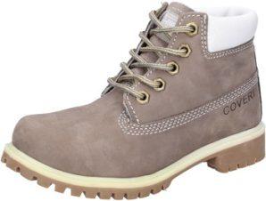 Μπότες Enrico Coveri stivaletti grigio pelle scamosciata AD831