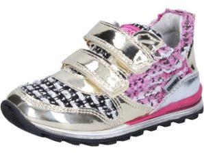 Xαμηλά Sneakers Enrico Coveri sneakers oro tessuto vernice BX821
