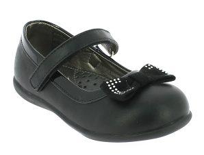 IQKIDS Κοριτσίστικη Μπαλαρίνα MARINA-110 Μαύρο – Μαύρο – MARINA-110 BLACK-black-22/4/1/71