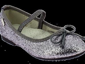 IQKIDS Κοριτσίστικη Μπαλαρίνα IWANNA-125 Ασημί – Ασημί – IWANNA-125 PEWTER-IQKIDS-silver-25/4/141/74