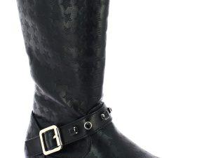 IQKIDS Κοριτσίστικη Μπότα PRINCESS-125 30/36 Μαύρο – Μαύρο – PRINCESS-125 BLACK-black-30/4/1/62