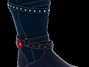 SLOBBY Κοριτσίστικη Μπότα 46-0259-T1 25/30 Μπλε – Μπλε – 46-0259-T1 NAVY-SLOBBY-blue-25/4/10/74