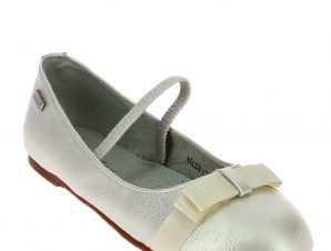 IQKIDS Κοριτσίστικη Μπαλαρίνα NELDA-130 Λευκό – Λευκό – NELDA-130 WHITE-IQKIDS-white-30/4/5/62