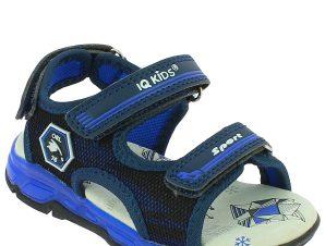 IQKIDS Αγορίστικο Πέδιλο LAMAR-130 Μπλε – Μπλε – LAMAR-130 BLUE-IQKIDS-blue-24/4/10/73