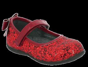 IQKIDS Κοριτσίστικη Μπαλαρίνα ROXANE-135 Κόκκινο – Κόκκινο – ROXANE-135 RED-IQKIDS-red-22/4/19/71