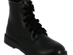 IQKIDS Κοριτσίστικο Μποτάκι ALEXIS-135 Μαύρο – Μαύρο – ALEXIS-135 BLACK-IQKIDS-black-30/4/1/62
