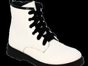 IQKIDS Κοριτσίστικο Μποτάκι ALEXIS-135 Λευκό – Λευκό – ALEXIS-135 WHITE-IQKIDS-white-30/4/5/62