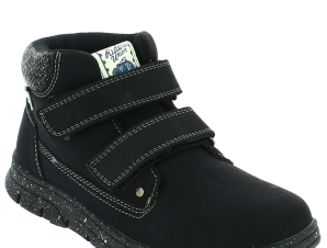 IQKIDS Αγορίστικο Μποτάκι DOMINGO-135 Μαύρο – Μαύρο – DOMINGO-135 BLACK-IQKIDS-black-31/4/1/63