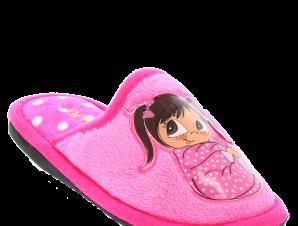 ANTRIN Κοριτσίστικα Παντοφλάκια BABY-125 Φούξια – Φούξια – BABY-125 FUXIA -ANTRIN-fuxia-28/4/26/60